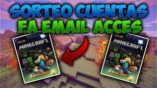SORTEO DE CUENTAS FA EMAIL ACCES COMPLETO REQUISITOS EN LA DESC!!