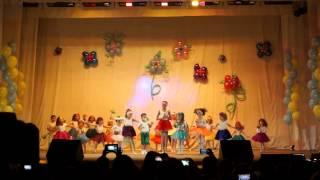 Фестиваль детского танца UNI-GYM-Пенза. Часть 1 (первый год обучения) 01/06/2014