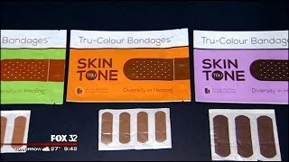 New bandages made to match your skin tone