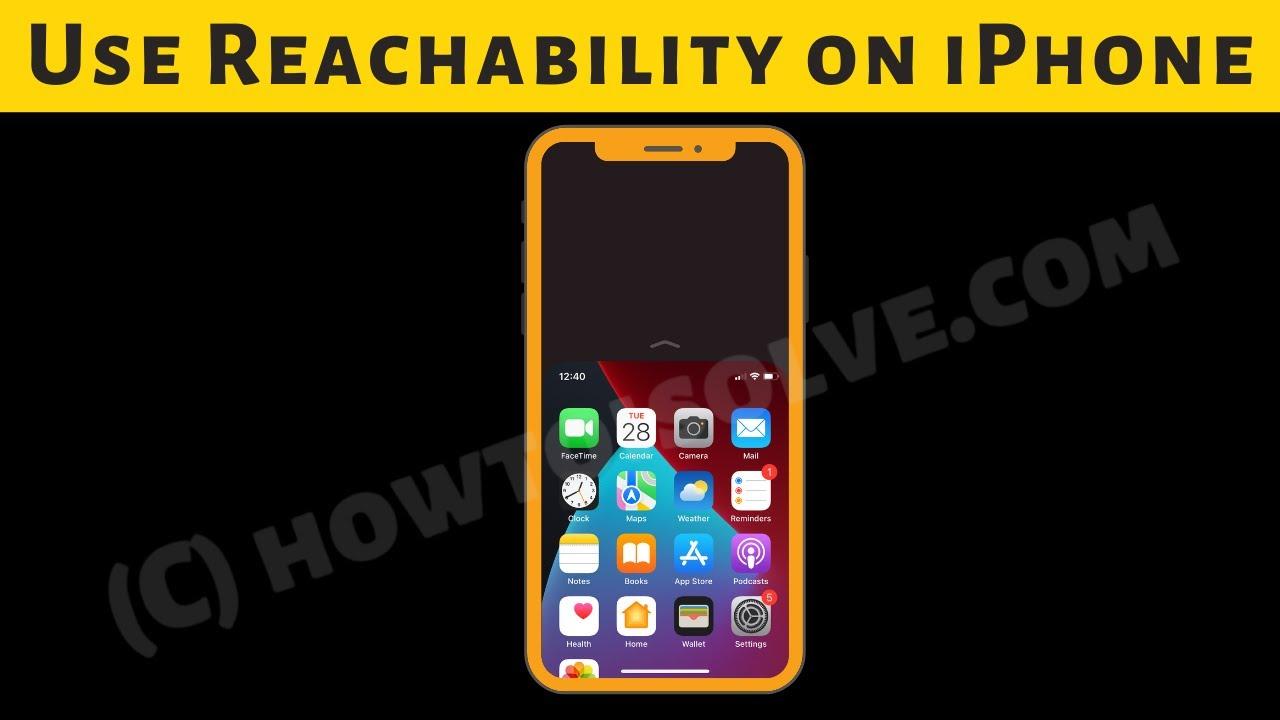 iOS 14: How to Turn on Reachability on iPhone 12 (Pro Max) - cách sử dụng tính năng Tầm với trên iphone 12 pro max
