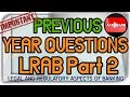 JAIIB Legal and regulatory aspects of banking previous year questions Mock Test Part 2