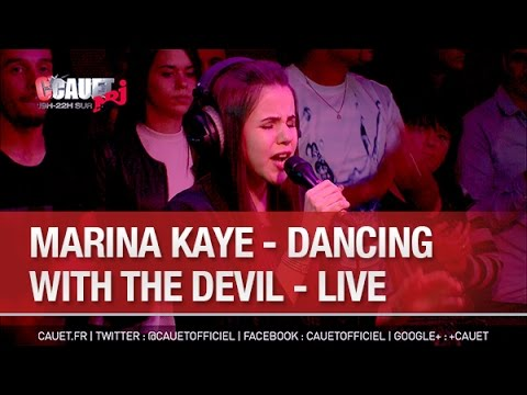 Marina Kaye - Dancing  With The Devil - Live - C'Cauet sur NRJ