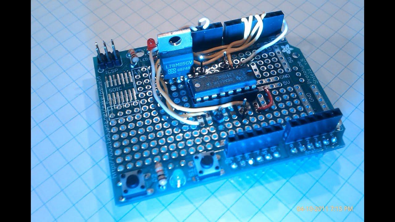 N° fabriquer un robot de a à z l d le code arduino