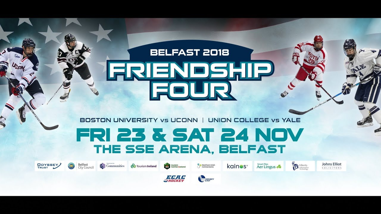 Friendship Four Festival Of Hockey Thanksgiving In Belfast