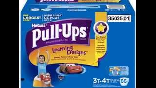 Check Huggies Pull-ups Training Pants for Boys, Size 3t-4t (32-40 Lbs.), 86  Best