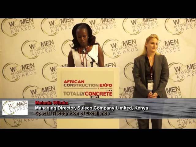 Meet the winners of the Women  in Construction Awards 2015