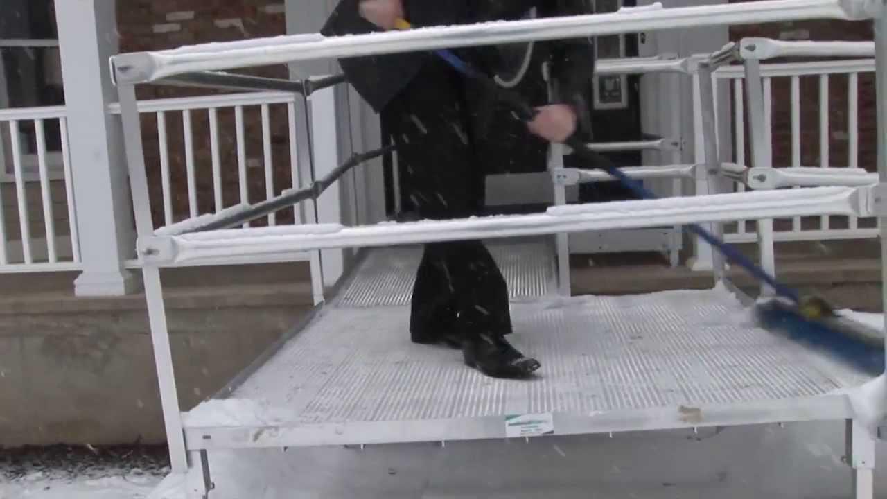 Steel Modular Wheelchair Ramp by National Ramp (ADA Compliant)