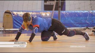 Découverte du Goalball - Champions d'Exception - Handisport TV