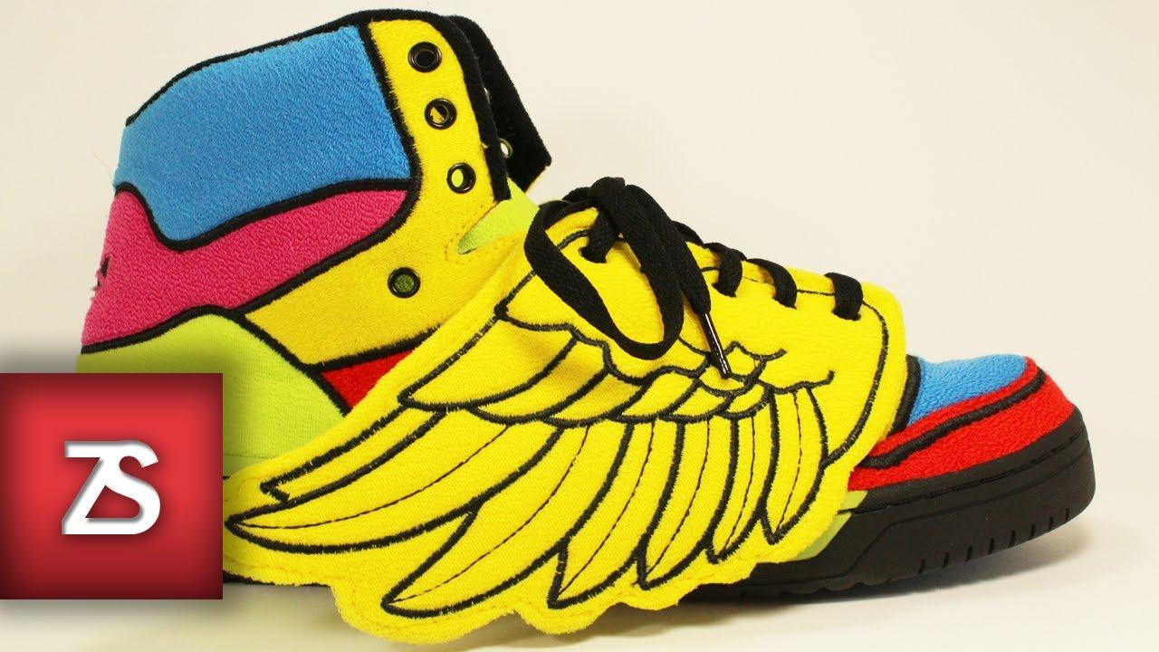 sports shoes f8a66 8534e Adidas Jeremy Scott Wings