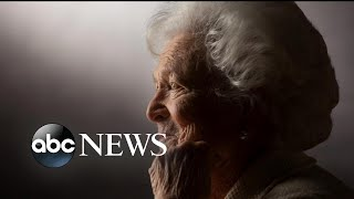 Former first lady Barbara Bush suffering from congestive heart failure