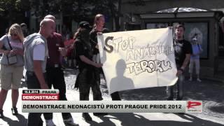 Demonstrace neonacistů proti Prague Pride 2012