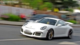 Porsche 911 GT3 991 with iPE exhaust! Loud sounds, Acceleration & Downshifts!