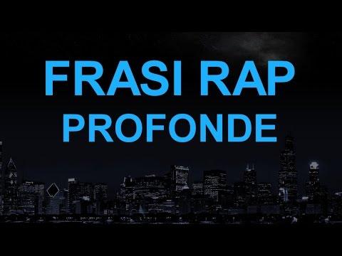 FRASI RAP ITALIANO PROFONDE (EPISODIO 1)