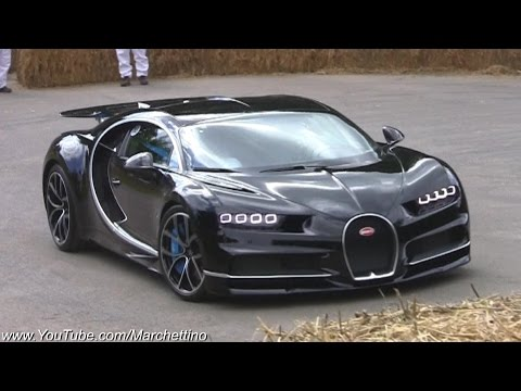 Bugatti Chiron Full Throttle Acceleration!
