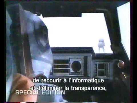 Star Wars ESB L'Empire Contre Attaque Edition Spéciale 1997 VHS VOST fr poster
