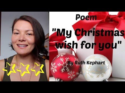 Christmas Poem | Un poema de navidad | Inglés con Anna