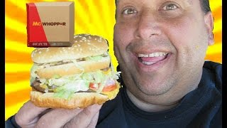 McWhopper® | The Historic Burger Mash-Up!