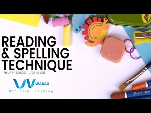 Reading & Spelling For Kids With Dyslexia | Tutorial 1