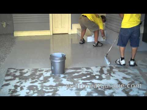 Epoxy Floor Installation