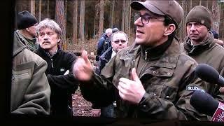 Hajnówka wizyta Ministra Środowiska Jana Szyszko