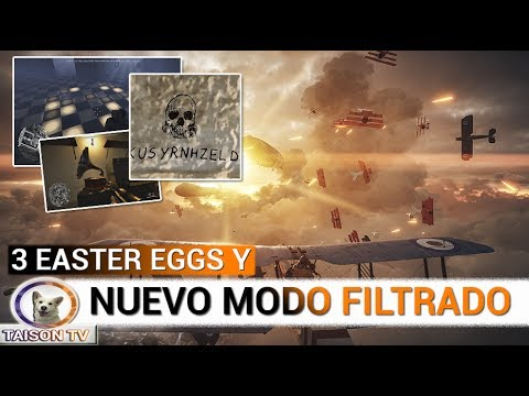 """BATTLEFIELD 1 NUEVO MODO """"AIRSHIP RAIDS"""" Y NUEVO SUPER EASTER EGG"""