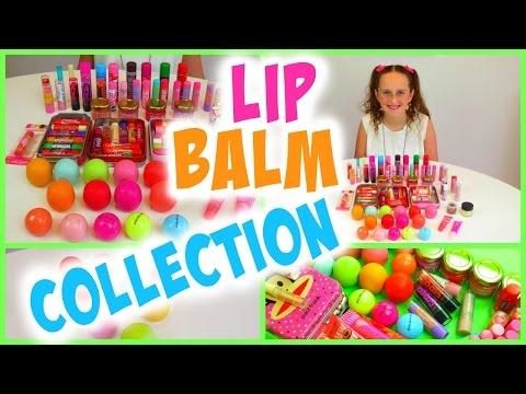 Lip Balm Collection & Haul | Lip Smacker, EOS, Baby Lips ...