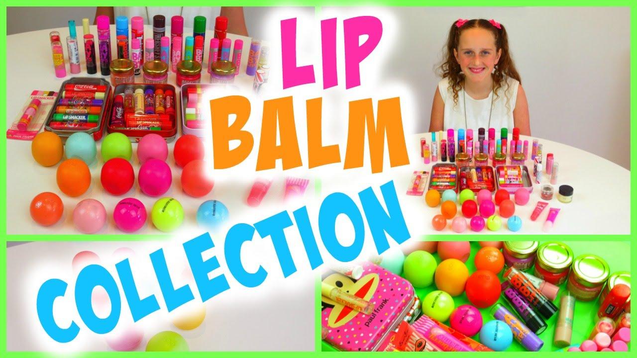 Lip Balm Collection Haul Lip Smacker Eos Baby Lips Maybelline