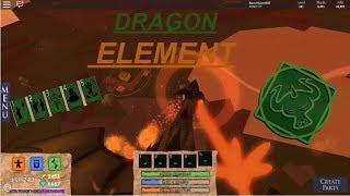 [NOUVEAU] DRAGON ELEMENT!!! | Champs de bataille élémentaires de Roblox
