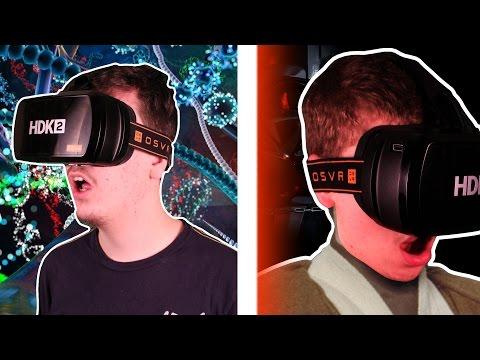 OSVR HDK2 VR UNBOXING + GAMEPLAY + 360 VIDEO