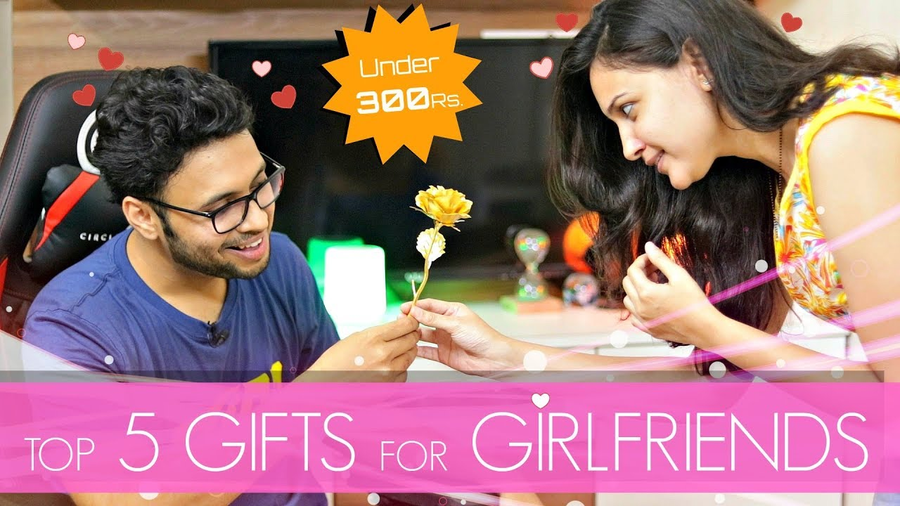 Top 5 Gifts For Your Girlfriend Under 300 Rs Hindi