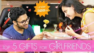 Top 5 Gifts For Your Girlfriend Under 300 Rs. [hindi]