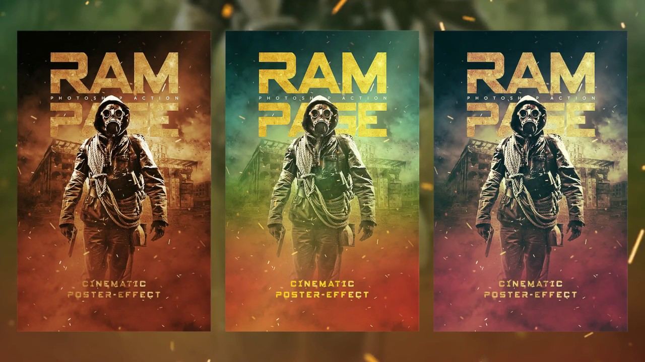 Ram Page – photoshop effect