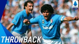 Diego Maradona's Best Serie A Moments | Throwback | Serie A