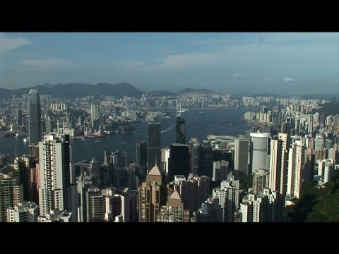Asian shares fall as panic grips world markets