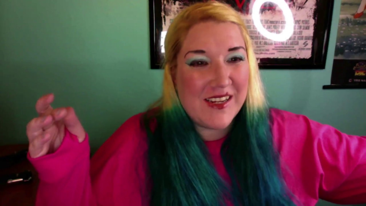 Punky Colour Turquoise Hair Dye Review Youtube
