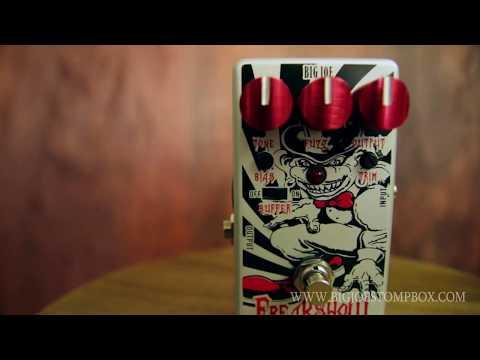 Fuzz pedal (Silicon) Freak Show Fuzz by Big Joe Stomp box