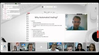 Automatic trading Interview with Bertrand, programmer robots and experts advisors