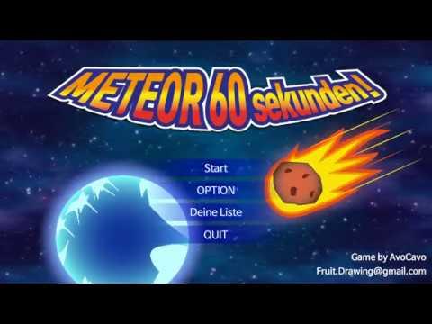 Meteor 60 Sekunden