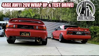 4AGE 20V AW11 MR2, The Poor Man's Ferrari WRAP UP [EP9] - THE SKID FACTORY