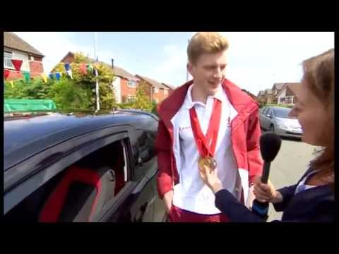 Adam Peaty homecoming