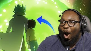 IF RICK AND MORTY WAS AN ANIME Reaction @Malec