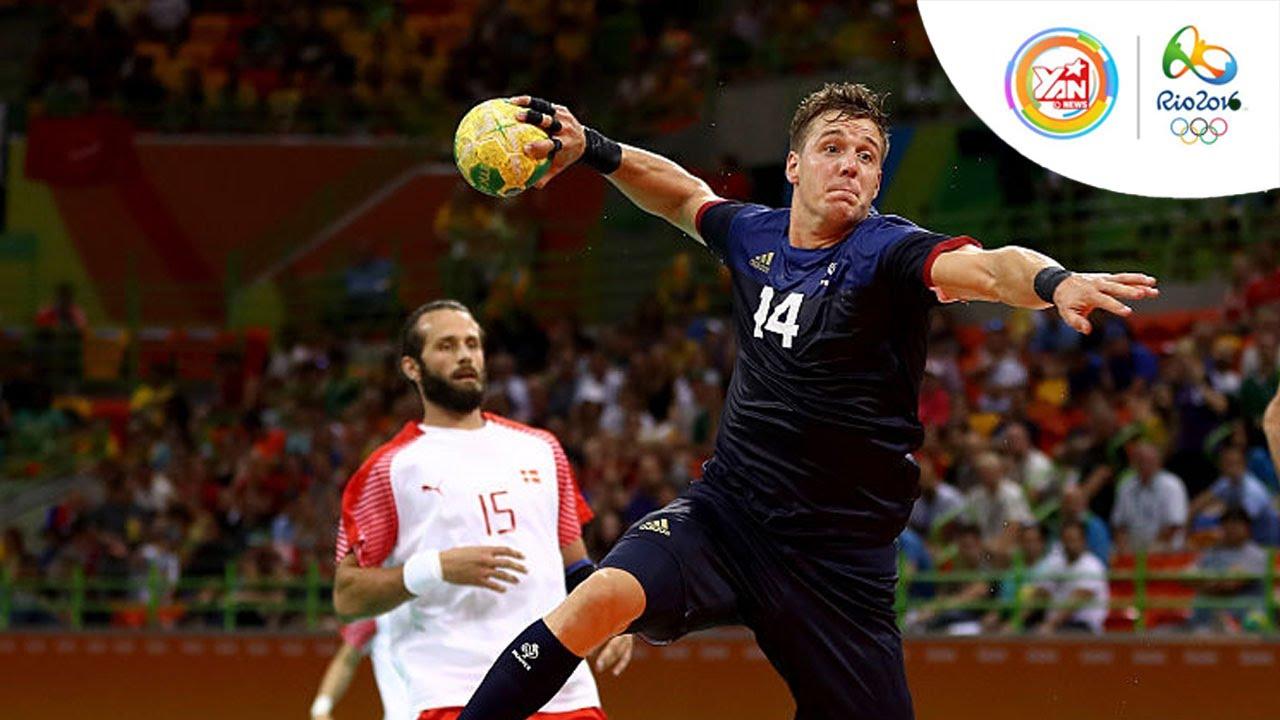 Bóng ném  nam vòng loại: Pháp - Đan Mạch (bảng A), Thuỵ Điển - Brazil (bảng B)