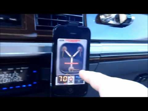 Back To The Future, Flux Capacitor IPhone App