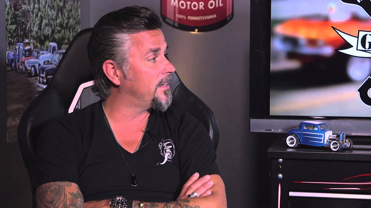 Uncle Joe Interviews Richard Rawlings in Uncle Joe s Garage
