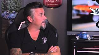 Uncle Joe Interviews Richard Rawlings in Uncle Joe's Garage