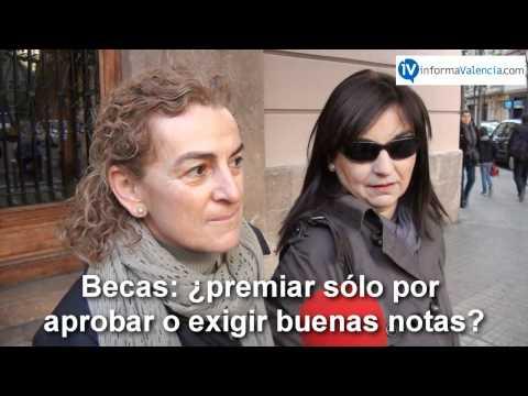 Opinión padres nuevas becas Generalitat Valenciana