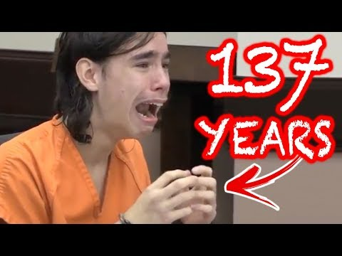 10 GUILTY TEENAGE Convicts REACTING to LIFE SENTENCES