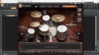 ToonTrack - EZDrummer 2 - Jazz - Demo