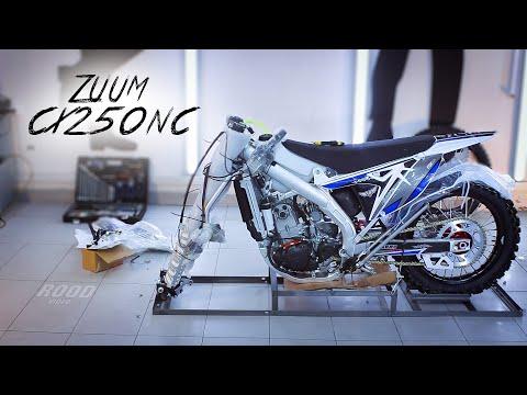 Как правильно собрать мотоцикл из коробки - ZUUM CX250NC