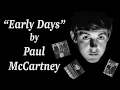 """Early Days"" by Paul McCartney (Beatles Montage)"
